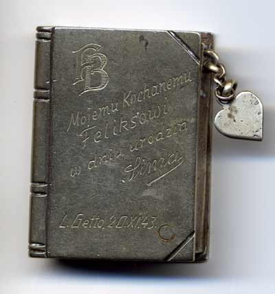 Lighter given to Felix by Simone, 11/2/43