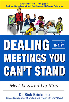 Dealing with Meetings book